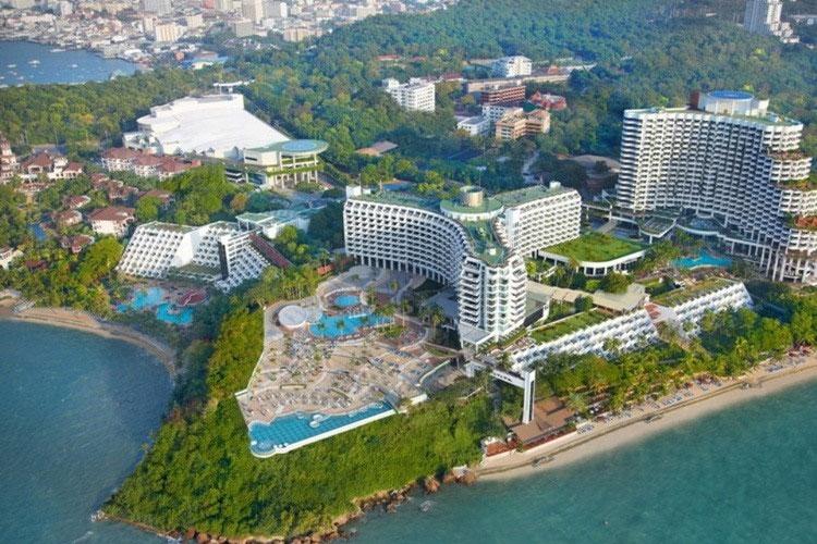โรงแรมรอยัล คลิฟ แกรนด์ พัทยาโรงแรมที่ได้รับความนิยมมากที่สุดในพัทยา